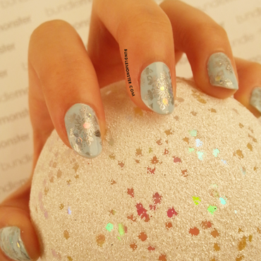 First Snow Day nail art by Bundle Monster