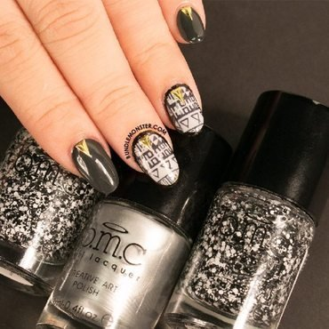 A Christmas Wish nail art by Bundle Monster