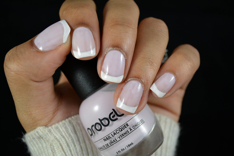 Probelle Sweet Pink and Probelle Chalk White Swatch by Fatimah