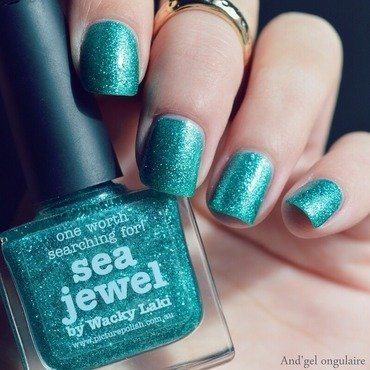 piCture pOlish Sea Jewel Swatch by And'gel ongulaire