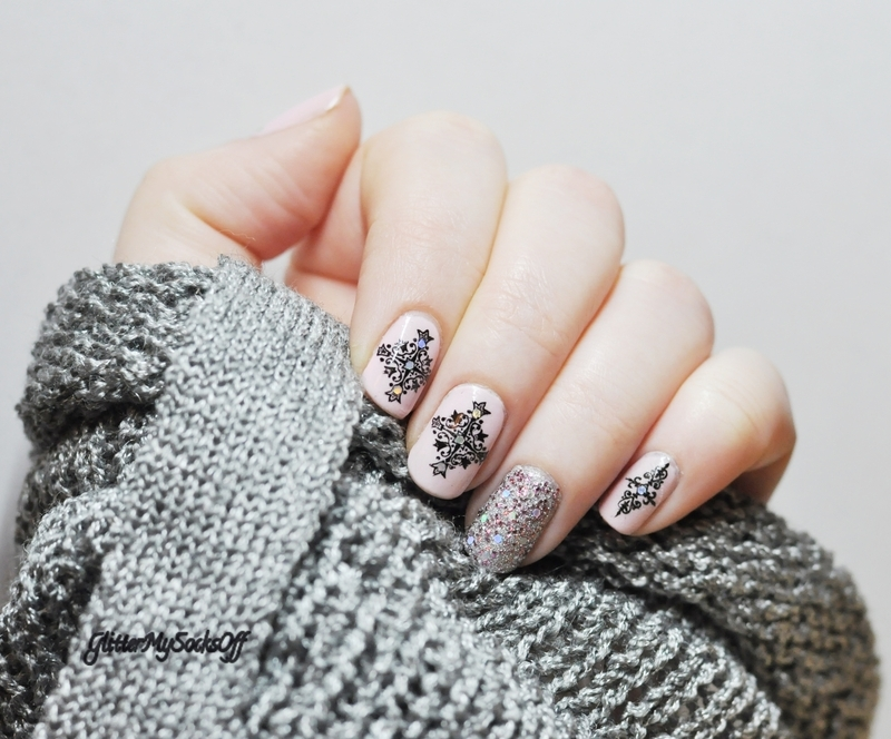 My kind of happiness nail art by GlitterMySocksOff