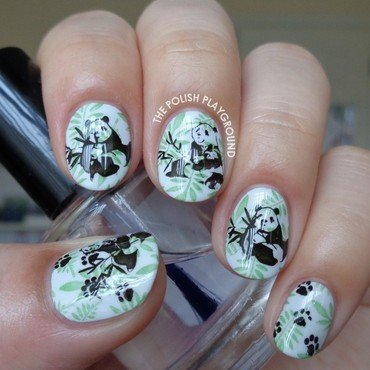 Pandas 20in 20the 20forest 20stamping 20nail 20art thumb370f