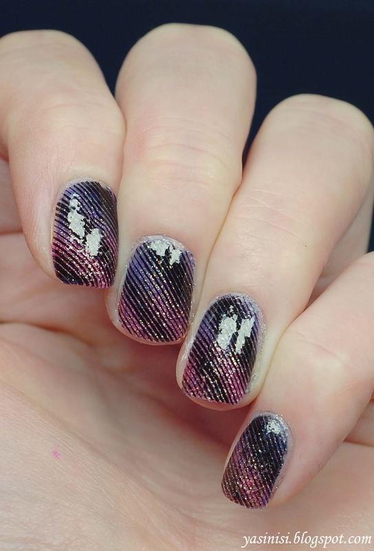 testing UberChic plates 2 nail art by Yasinisi