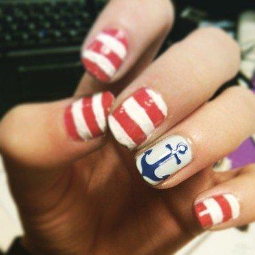 seaman nail art nail art by JonideGroot
