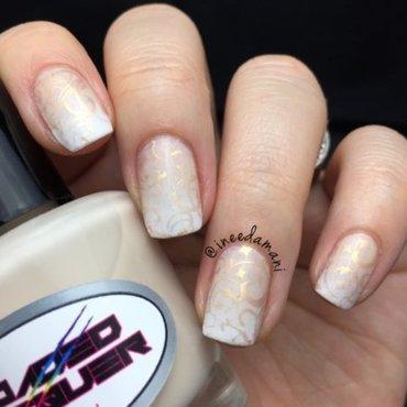 Nude gradient nail art by Carmen Ineedamani