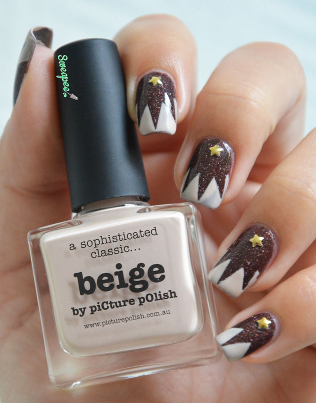 French manucure explosion in the gold coast nail art by Sweapee