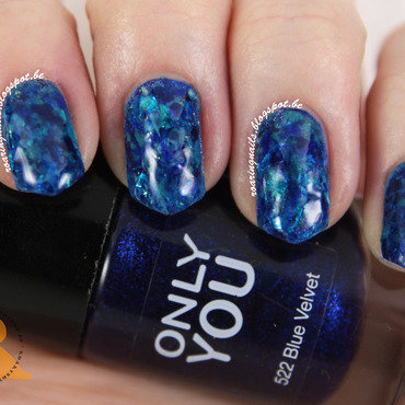 Under the Sea nail art by Robin