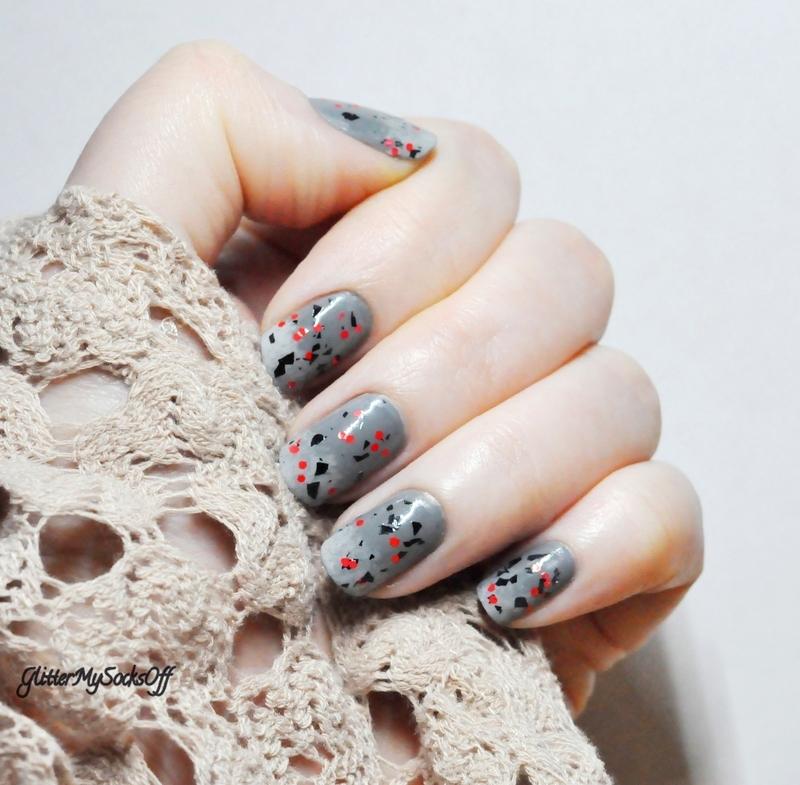 Sophisticated playfulness nail art by GlitterMySocksOff