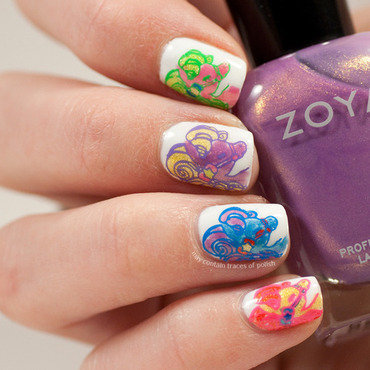 My Little Pony nail art nail art by Zara TracesOfPolish