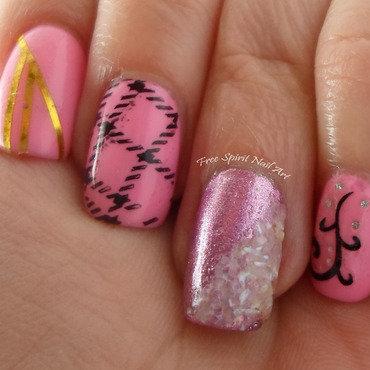 Pink nail art 4 thumb370f