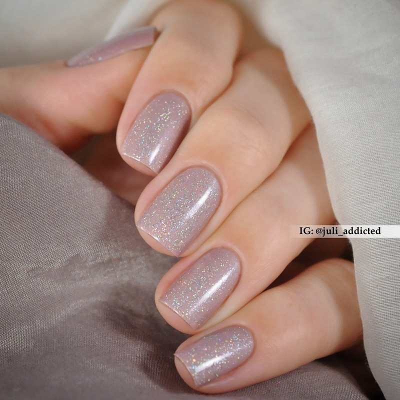 L.A. Girl 3D Silver and Anny Dress to impress Swatch by Juli