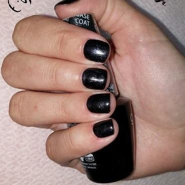 black&gray nail art by Irina