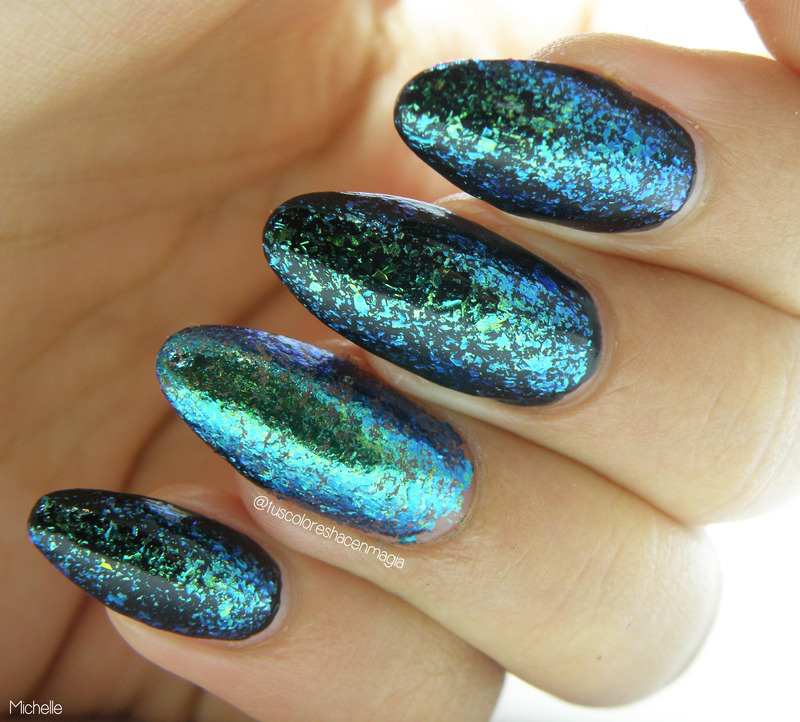 I Love Nail Polish Gaia Swatch by Michelle Mullett