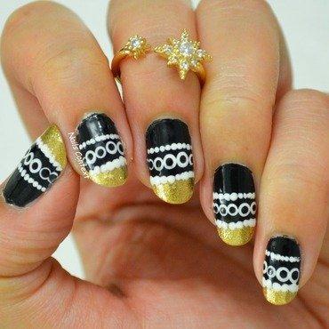 Party Nails nail art by NailsContext