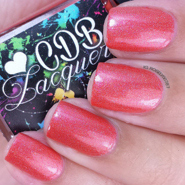 CDB Lacquer Spring Forward Swatch by Rose Mercedes