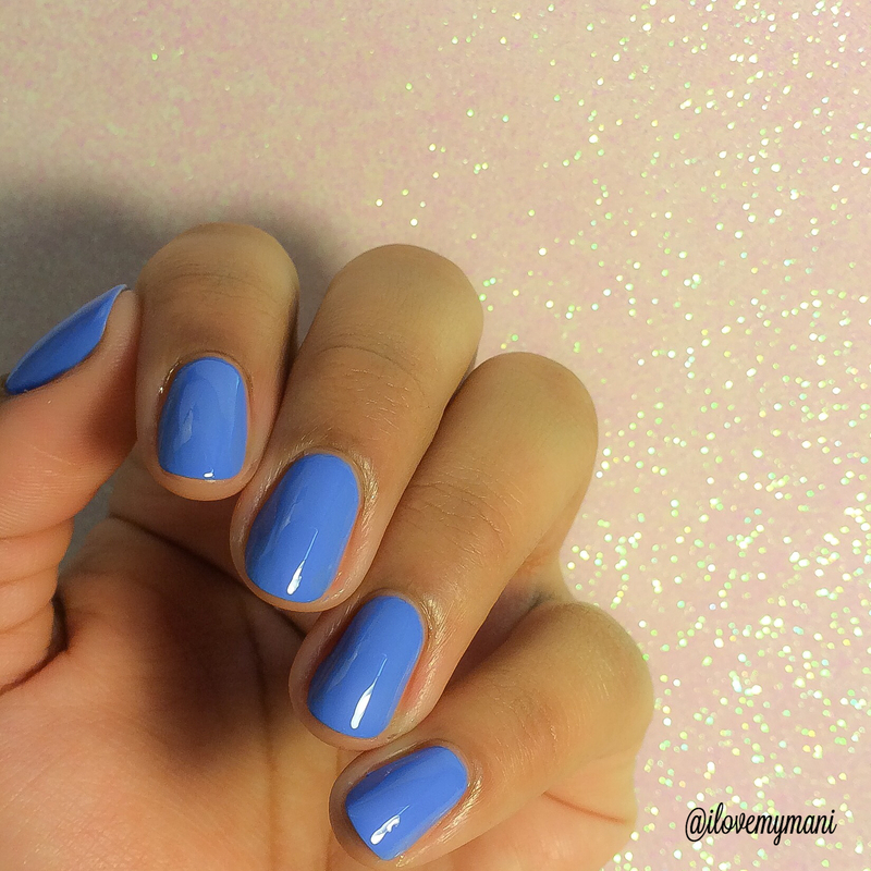 Swatch - Ocean View by Nina Ultra Pro nail art by Gabrielle ...