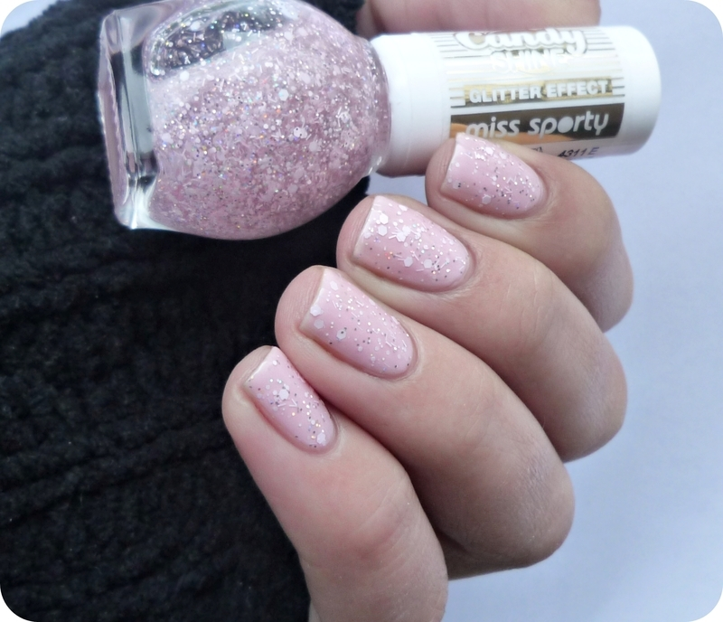 Miss sporty candy shine 002 Pink Marshmallow Swatch by Romana