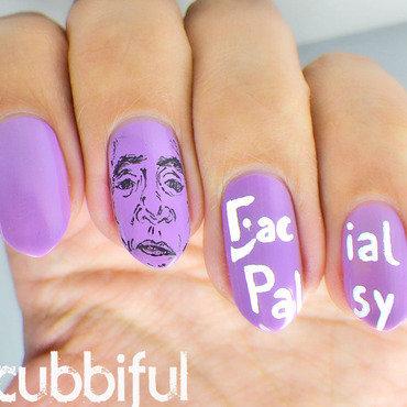 Facial palsy awareness nails thumb370f