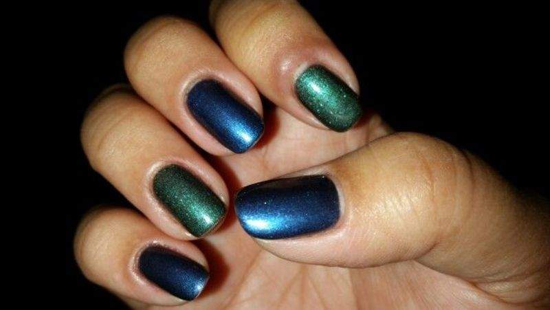 Holographic Love nail art by HighTech
