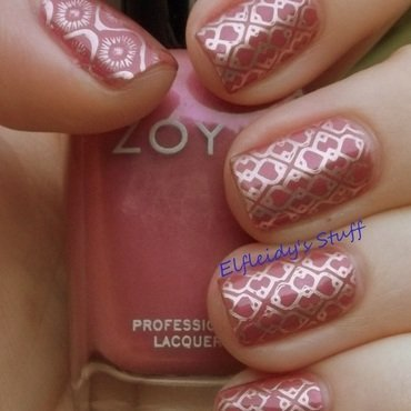 Monday NOTD nail art by Jenette Maitland-Tomblin