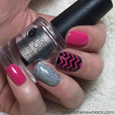 Pink Mix and Match Mani nail art by Polishisthenewblack