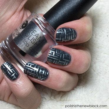 Maze Runner inspired Nail art nail art by Polishisthenewblack