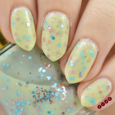 Revlon whimsical Swatch by Becca (nyanails)