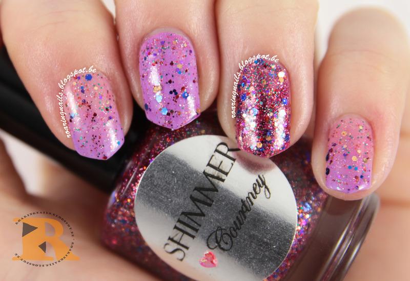 Shimmer Polish Courtney Swatch by Robin