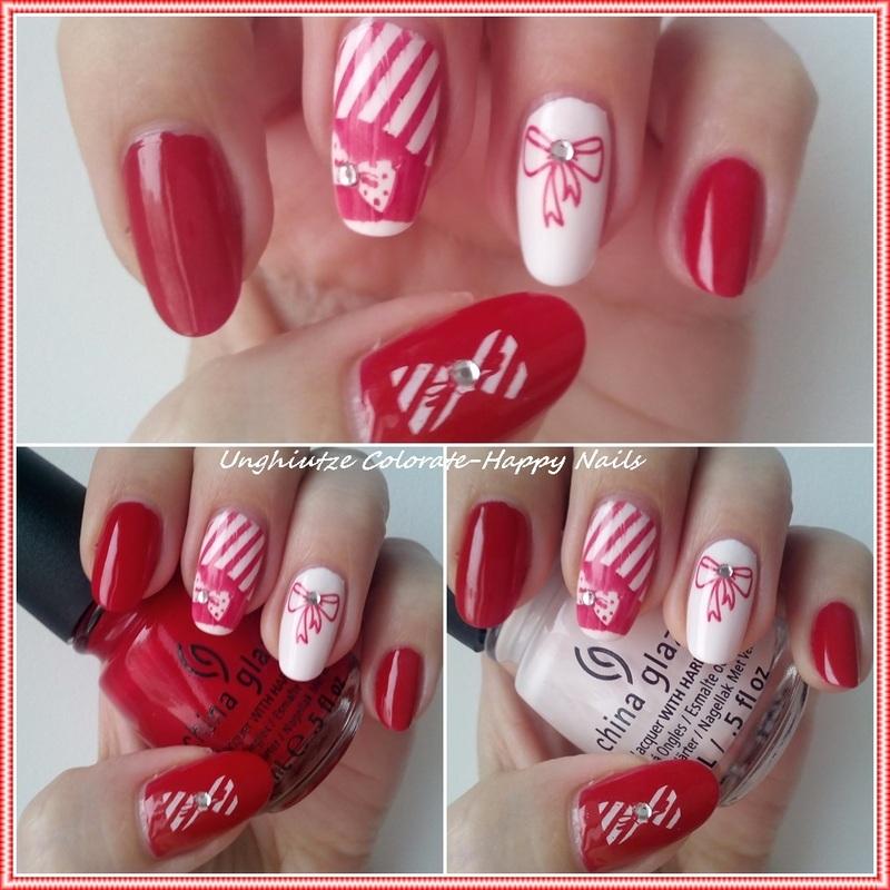 Martisor nail art by Oana  Alexandru