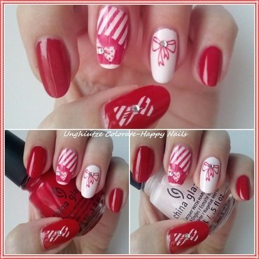 Martisor nail art by Oana  Alexandru