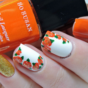 Floral mix and match nails 20 4  thumb370f