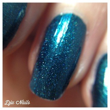 il etait un vernis In Teal We Trust Swatch by Dju Nails