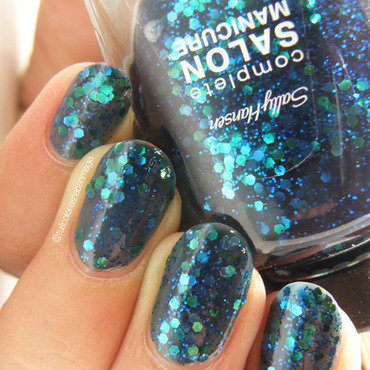 Sally Hansen mermaid's tale Swatch by Michelle Mullett