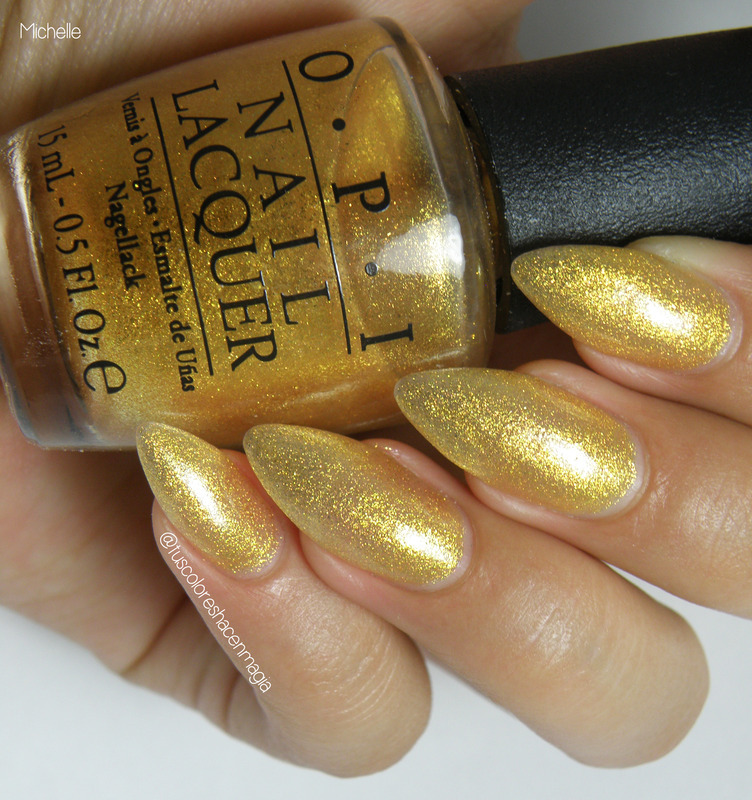 OPI Oy-Another Polish Joke Swatch by Michelle Mullett