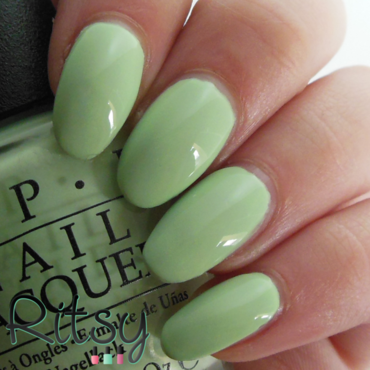 OPI That's Hula-rious! Swatch by Ritsy NL