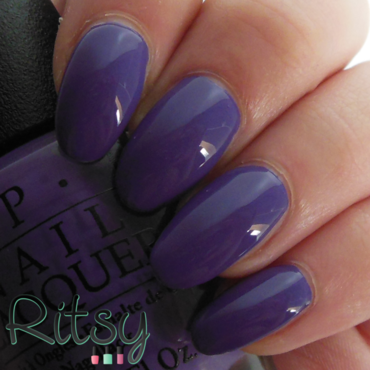 OPI Lost My Bikini in Molokini Swatch by Ritsy NL