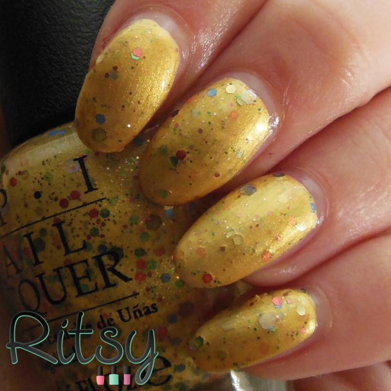 OPI Pineapples Have Peelings Too! Swatch by Ritsy NL