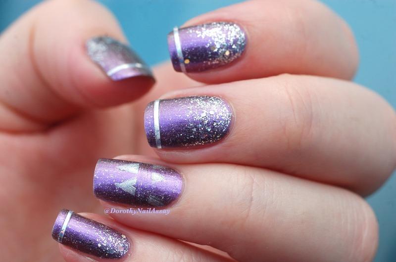 Maroon 5 inspired Nail art nail art by Dorothy NailAssay - Nailpolis ...