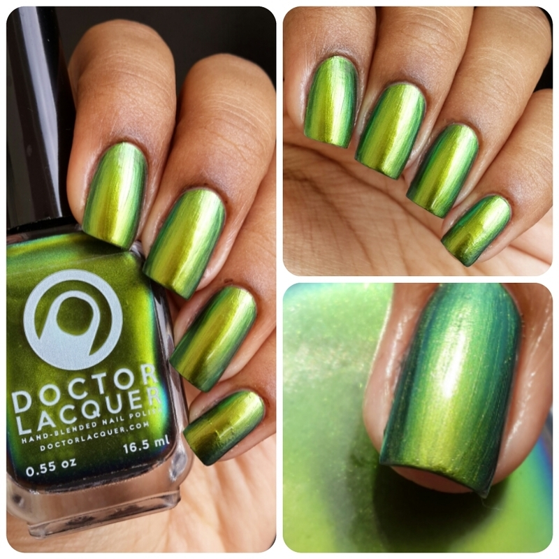 Doctor Lacquer The World of the Coral Sea Swatch by Gifted_nails