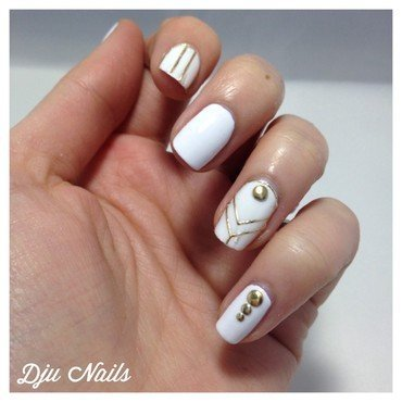Nailpatch/stickers 3D Born Pretty Store nail art by Dju Nails
