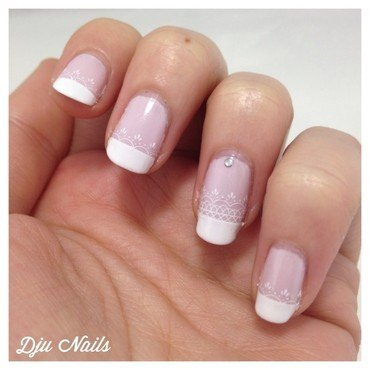 Nailart et inspirations Saint Valentin nail art by Dju Nails