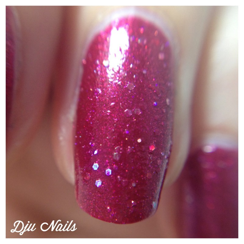 Renaissance Cosmetics Rosie-osie Swatch by Dju Nails