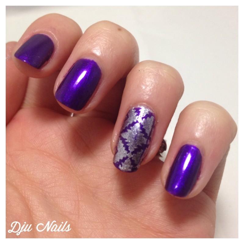 A Stampy Birthday To Marine ! nail art by Dju Nails