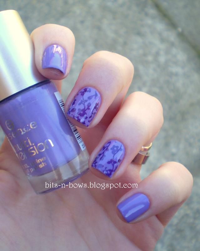 My oldest nail polish + stamping nail art by Kristina - Nailpolis ...