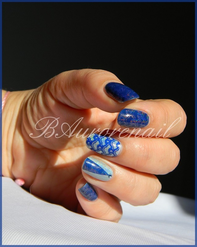 nail art graphique nail art by BAurorenail
