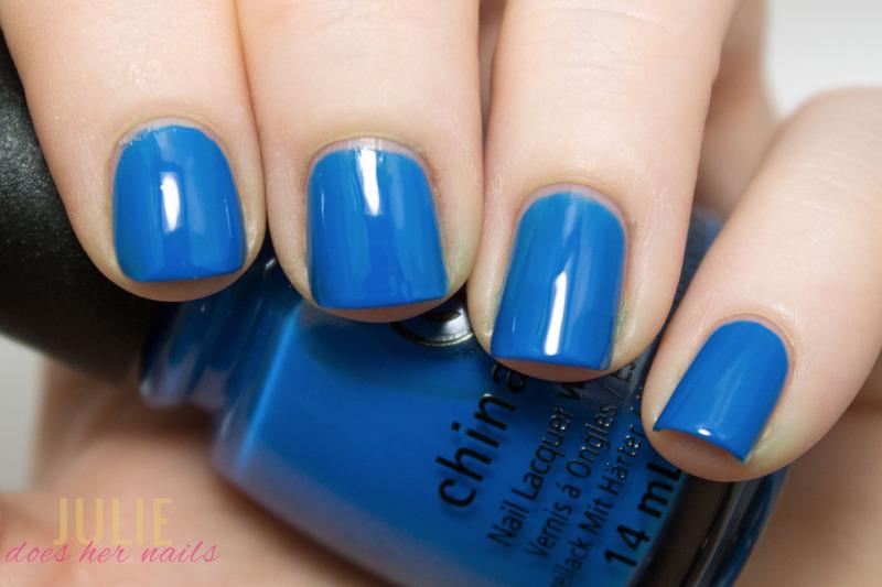 China Glaze License & Registration Pls Swatch by Julie - Nailpolis ...