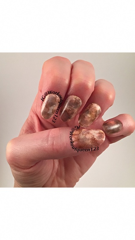 stone nail art work nail art by Workoutqueen123