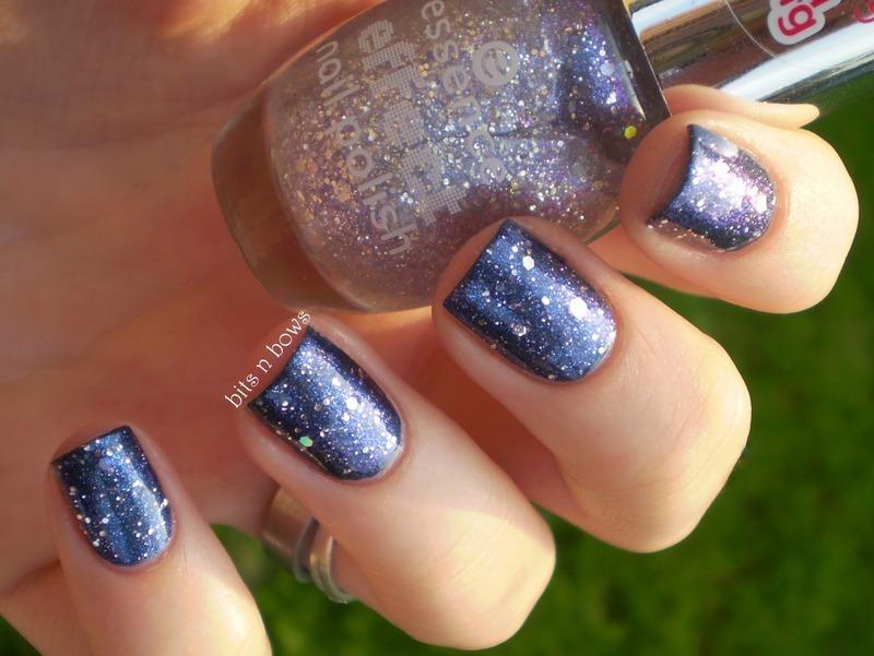 Two nail polish = galaxy nail art by Kristina - Nailpolis: Museum of ...