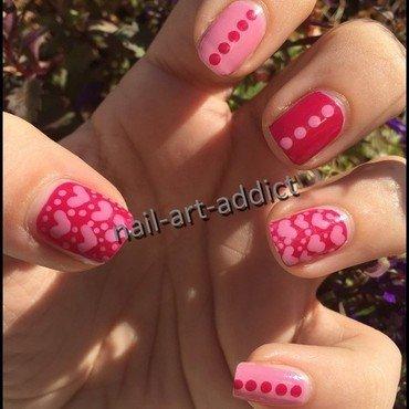 Nail Art : Saint Valentin nail art by SowNails