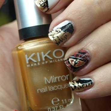 The Hobbit - Eye of Smaug nail art by MartaRuso